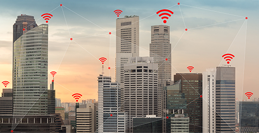 iot services for Local Messaging in enterprises
